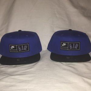Nike Air Max Pro SnapBack Hat Blue Jordan Bundle!!